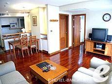 バンコク シーロム・サトーン周辺のホテル : バンダラ スイート シーロム バンコク(Bandara Suite Silom Bangkok)のお部屋「ビジネス スイート」