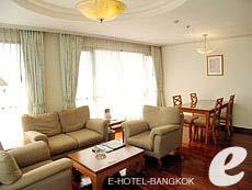 バンコク シーロム・サトーン周辺のホテル : バンダラ スイート シーロム バンコク(Bandara Suite Silom Bangkok)のお部屋「バンダラ スイート 2ベッドルーム」