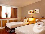 バンコク シーロム・サトーン周辺のホテル : バンダラ スイート シーロム バンコク(Bandara Suite Silom Bangkok)の2ベッドルーム レジデンスルームの設備 Bedroom