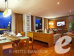 バンコク シーロム・サトーン周辺のホテル : バンダラ スイート シーロム バンコク(Bandara Suite Silom Bangkok)の2ベッドルーム レジデンスルームの設備 Dinning