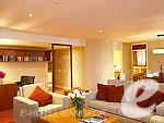 バンコク シーロム・サトーン周辺のホテル : バンダラ スイート シーロム バンコク(Bandara Suite Silom Bangkok)の2ベッドルーム レジデンスルームの設備 Living Room