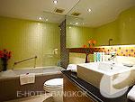 バンコク シーロム・サトーン周辺のホテル : バンダラ スイート シーロム バンコク(Bandara Suite Silom Bangkok)の2ベッドルーム レジデンスルームの設備 Bath Room