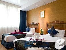 バンコク 王宮・カオサン周辺のホテル : バンコク センター ホテル(Bangkok Centre Hotel)のお部屋「スーペリア シングル (ルームオンリー)」
