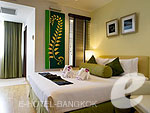 バンコク 王宮・カオサン周辺のホテル : バンコク センター ホテル(Bangkok Centre Hotel)のスーパー デラックス ダブル(ウィズ ABF)ルームの設備 Bedroom
