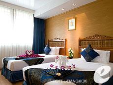 バンコク 王宮・カオサン周辺のホテル : バンコク センター ホテル(Bangkok Centre Hotel)のお部屋「スーペリア ダブル(ウィズ ABF)」
