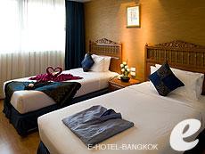 バンコク 王宮・カオサン周辺のホテル : バンコク センター ホテル(Bangkok Centre Hotel)のお部屋「デラックス シングル (ルームオンリー)」