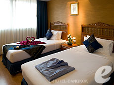 バンコク 王宮・カオサン周辺のホテル : バンコク センター ホテル(Bangkok Centre Hotel)のお部屋「デラックス ダブル(ルームオンリー)」