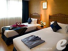 バンコク 王宮・カオサン周辺のホテル : バンコク センター ホテル(Bangkok Centre Hotel)のお部屋「デラックス シングル(ウィズ ABF)」