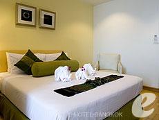バンコク 王宮・カオサン周辺のホテル : バンコク センター ホテル(Bangkok Centre Hotel)のお部屋「スーパー デラックス シングル(ロームオンリー)」