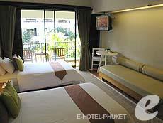 プーケット 10,000~20,000円のホテル : バンタイ ビーチ リゾート & スパ (1)のお部屋「スーペリア(ツイン/ダブル)」
