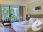 プーケット 10,000~20,000円のホテル : バンタイ ビーチ リゾート & スパ (Banthai Beach Resort & Spa)のデラックスプールルームの設備 Bedroom