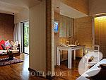 プーケット 10,000~20,000円のホテル : バンタイ ビーチ リゾート & スパ (Banthai Beach Resort & Spa)のデラックス スイートルームの設備 Living Room