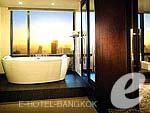 バンコク シーロム周辺のホテル : バンヤン ツリー バンコク(Banyan Tree Bangkok)のバンヤン ツリー クラブルームの設備 Bath Room