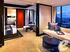 バンコク シーロム周辺のホテル : バンヤン ツリー バンコク(Banyan Tree Bangkok)のお部屋「1 ベッドルーム スイート」