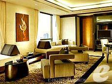 バンコク シーロム周辺のホテル : バンヤン ツリー バンコク(Banyan Tree Bangkok)のお部屋「2 ベッドルーム スイート」