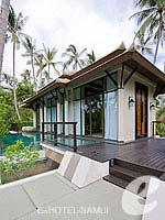 サムイ島 オーシャンビューのホテル : バンヤン ツリー サムイ(Banyan Tree Samui)のデラックス プールヴィラルームの設備 Exterior