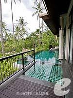 サムイ島 オーシャンビューのホテル : バンヤン ツリー サムイ(Banyan Tree Samui)のデラックス プールヴィラルームの設備 Private Pool