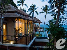 サムイ島 オーシャンビューのホテル : バンヤン ツリー サムイ(1)のお部屋「ヒルクレスト プール ヴィラ」