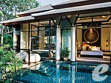 サムイ島 オーシャンビューのホテル : バンヤン ツリー サムイ(1)のお部屋「ロイヤル バンヤン プール ヴィラ」