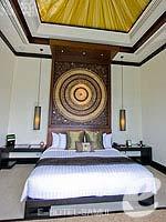 サムイ島 フィットネスありのホテル : バンヤン ツリー サムイ(Banyan Tree Samui)のサンクチュアリ プール ヴィラ(2ベッドルーム)ルームの設備 Bedroom