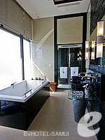 サムイ島 オーシャンビューのホテル : バンヤン ツリー サムイ(Banyan Tree Samui)のサンクチュアリ プール ヴィラ(2ベッドルーム)ルームの設備 Bathroom