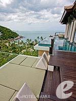 サムイ島 オーシャンビューのホテル : バンヤン ツリー サムイ(Banyan Tree Samui)のサンクチュアリ プール ヴィラ(2ベッドルーム)ルームの設備 Day Bed