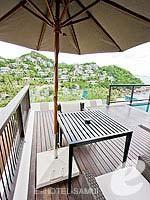 サムイ島 オーシャンビューのホテル : バンヤン ツリー サムイ(Banyan Tree Samui)のサンクチュアリ プール ヴィラ(2ベッドルーム)ルームの設備 Terrace