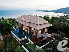 サムイ島 オーシャンビューのホテル : バンヤン ツリー サムイ(1)のお部屋「サンクチュアリ プール ヴィラ(2ベッドルーム)」