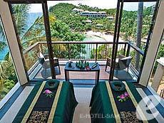 サムイ島 オーシャンビューのホテル : バンヤン ツリー サムイ(1)のお部屋「グランド サンクチュアリ プールヴィラ」