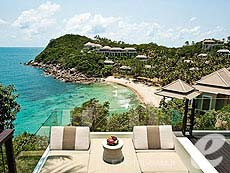 サムイ島 オーシャンビューのホテル : バンヤン ツリー サムイ(1)のお部屋「プレジデンシャル プールヴィラ」
