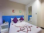 プーケット パトンビーチのホテル : バラミー ヒップ ホテル(Baramee Hip Hotel)のスタンダード ルームルームの設備 Bedroom