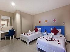 プーケット パトンビーチのホテル : バラミー ヒップ ホテル(1)のお部屋「スーペリア ルーム」