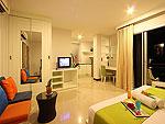 プーケット パトンビーチのホテル : バラミー ヒップ ホテル(Baramee Hip Hotel)のスーペリア プレミアムルームの設備 Room View