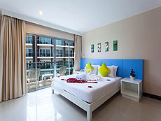 プーケット パトンビーチのホテル : バラミー ヒップ ホテル(1)のお部屋「スーペリア プレミアム」