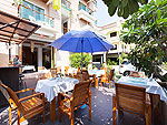 Outside Restaurant : Baramee Resortel, Patong Beach, Phuket