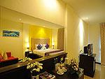 プーケット パトンビーチのホテル : バラミー リゾテル(Baramee Resortel)のスーペリアルームの設備 Bedroom