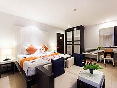 プーケット パトンビーチのホテル : バラミー リゾテル(1)のお部屋「デラックス」