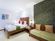 プーケット パトンビーチのホテル : バラミー リゾテル(1)のお部屋「デラックス プレミアム」