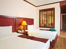 プーケット ファミリー&グループのホテル : バウマンブリ(1)のお部屋「デラックス (ツイン/ダブル)」