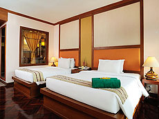プーケット ファミリー&グループのホテル : バウマンブリ(1)のお部屋「グランド デラックス(ツイン/ダブル)」
