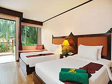 プーケット ファミリー&グループのホテル : バウマンブリ(1)のお部屋「プールサイド アクセス(シングル)」