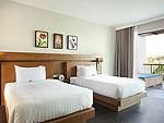 サムイ島 チョンモーンビーチのホテル : ベイ ウォーター リゾート(Bay Water Resort Koh Samui)のデラックスルームの設備 Room View