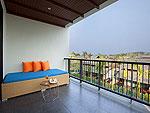 サムイ島 チョンモーンビーチのホテル : ベイ ウォーター リゾート(Bay Water Resort Koh Samui)のデラックスルームの設備 Balcony