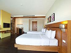 サムイ島 チョンモーンビーチのホテル : ベイ ウォーター リゾート(1)のお部屋「デラックス」