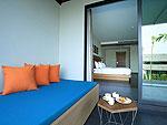 サムイ島 チョンモーンビーチのホテル : ベイ ウォーター リゾート(Bay Water Resort Koh Samui)のデラックス プールアクセスルームの設備 Balcony
