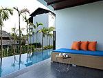 サムイ島 チョンモーンビーチのホテル : ベイ ウォーター リゾート(Bay Water Resort Koh Samui)のデラックス プールアクセスルームの設備 Pool Access