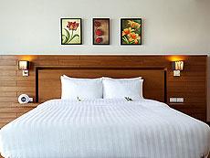 サムイ島 チョンモーンビーチのホテル : ベイ ウォーター リゾート(1)のお部屋「デラックス プールアクセス」