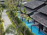 サムイ島 チョンモーンビーチのホテル : ベイ ウォーター リゾート(Bay Water Resort Koh Samui)のクラブ プール ヴィラルームの設備 Exterior