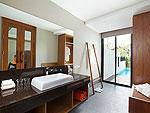 サムイ島 チョンモーンビーチのホテル : ベイ ウォーター リゾート(Bay Water Resort Koh Samui)のクラブ プール ヴィラルームの設備 Bath Room
