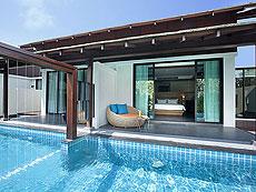 サムイ島 チョンモーンビーチのホテル : ベイ ウォーター リゾート(1)のお部屋「クラブ プール ヴィラ」